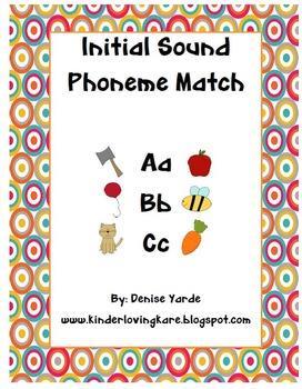 Initial phoneme matching center