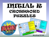 Initial /r/ Crossword Puzzles- BOOM Cards!