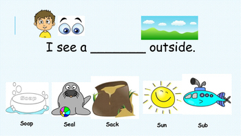 Initial /s/ activity for Apraxia (English)