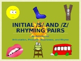 Initial /s/ and /z/ Rhyming Pairs