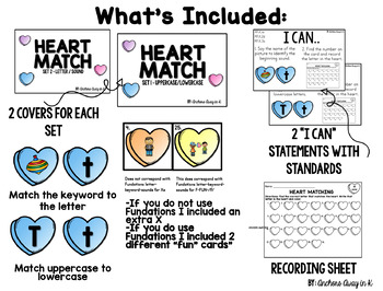 Initial sound and letter recognition  - Valentine Themed