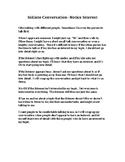 Initiate Conversation Social Story- Notice Interest