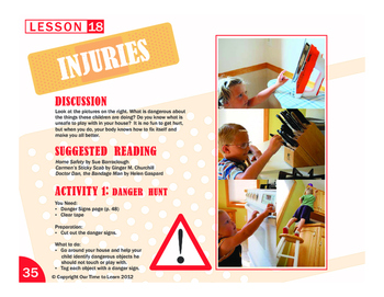 Injuries - Danger Awareness