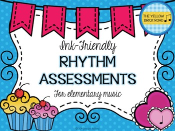 Ink-Friendly Rhythm Assessments for Elementary Music