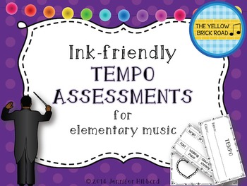 Ink-Friendly Tempo Assessments for Elementary Music