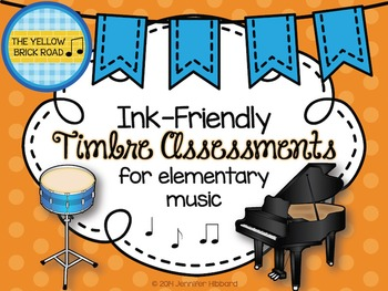 Ink-Friendly Timbre Assessments for Elementary Music