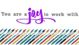 Ink Joy Teacher/Co-worker Gift Tags