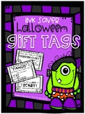 Ink Saver Halloween Gift Tags