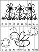 Ink Saver Spring Skip Counting Puzzles