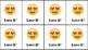 Ink Saving Emoji themed Brag Tags