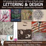 Ink and Design Art Lesson Bundle