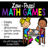 Ink-saving, MATH GAMES for practicing Operations and Algebraic Thinking