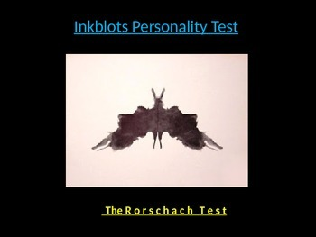 Inkblot Personality