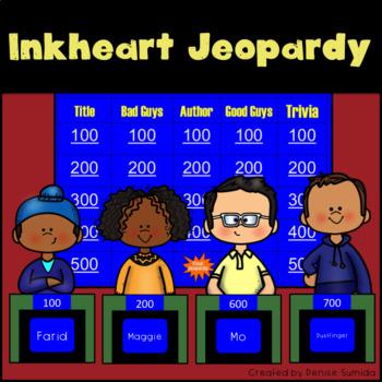 Inkheart by Cornelia Funke Jeopardy
