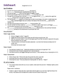 Inkheart ch 1-5 assignment Questions