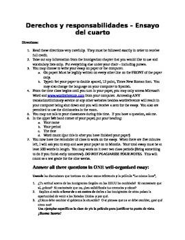 English Essay Story Inmigracin En Los Estados Unidos  Hispanic Immigration Essay Assignment Short English Essays also A Modest Proposal Ideas For Essays Inmigracin En Los Estados Unidos  Hispanic Immigration Essay  High School Senior Essay