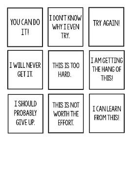 Inner Coach vs. Inner Critic Sort