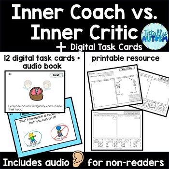 Inner Coach vs. Inner Critic- Zones of Regulation Companion