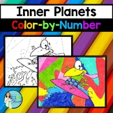 Inner Planets Color-by-Number
