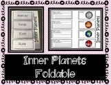 Inner Planets - Interactive Notebook / Foldable