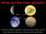 Inner Planets of the Solar System Interactive Power Point Lesson