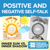 Inner Sun vs. Inner Shadow - Activities for Positive and Negative Self-Talk