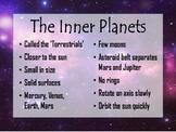 Inner VS Outer Planets Posters