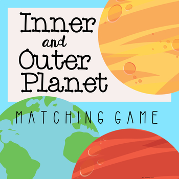Inner and Outer Planet Matching Game
