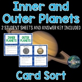 Planets Card Sort