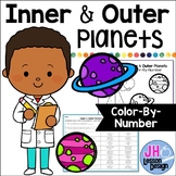 Inner Planets and Outer Planets Color-By-Number