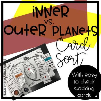 Inner vs Outer Planet card sort