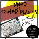 Inner vs Outer Planet card sort