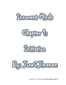 Book: Innocent Minds Chapter 1
