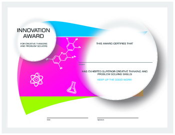 Innovation Award Certificate