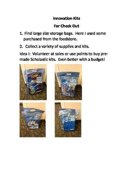 Innovation Kits for Checkout - Media Center - Library- Mak