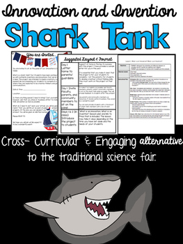 Innovation and Invention Shark Tank (Upper Elementary & Middle School)