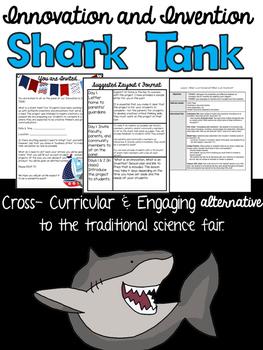 Innovation and Invention Shark Tank (Upper Elementary & Mi