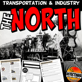 Industrial North Innovation & Transportation of the Early 1800's  Advertisement