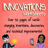 Innovations Worksheet Bundle