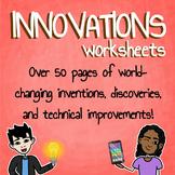 Innovations Worksheet Bundle