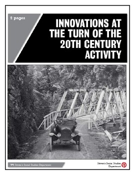 Innovations at the Turn of the 20th Century Activity