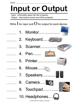 Input - Output Computer Devices