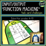 Input Output Function Machine Challenge Task Cards