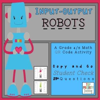 Input Output Machines Math 4/5