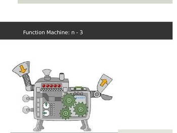 Input and Output Function Machine Powerpoint
