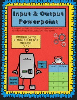 Input and Output Powerpoint
