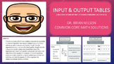 Input and Output Tables (Includes PowerPoint Lesson with Printables!)