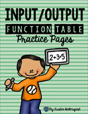 Input/Output Function Tables