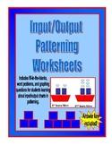 Input/Output Patterning Worksheets