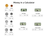 Inputting Money Values into a Calculator